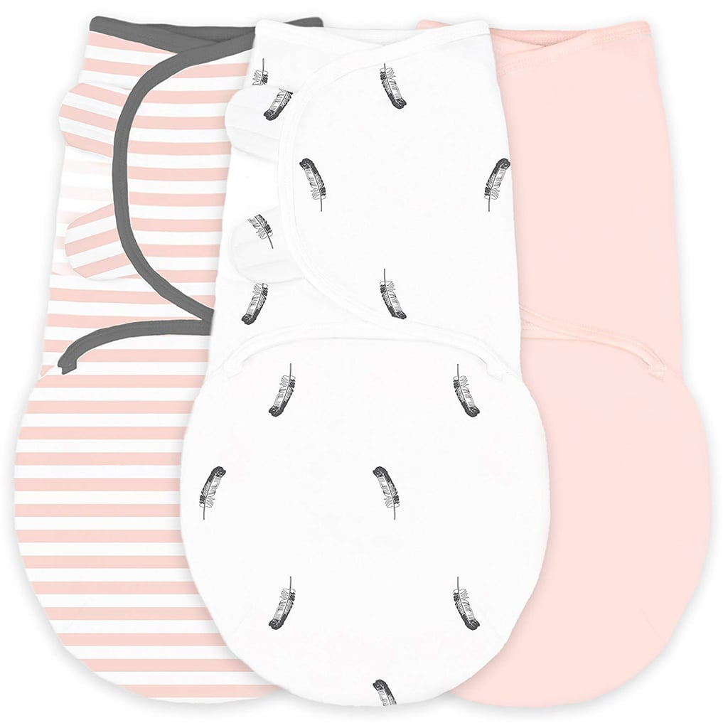 For Infants: Amazing Baby Swaddle Blankets with Adjustable Wrap