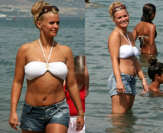 Pictures of Kerry Katona in a Bikini