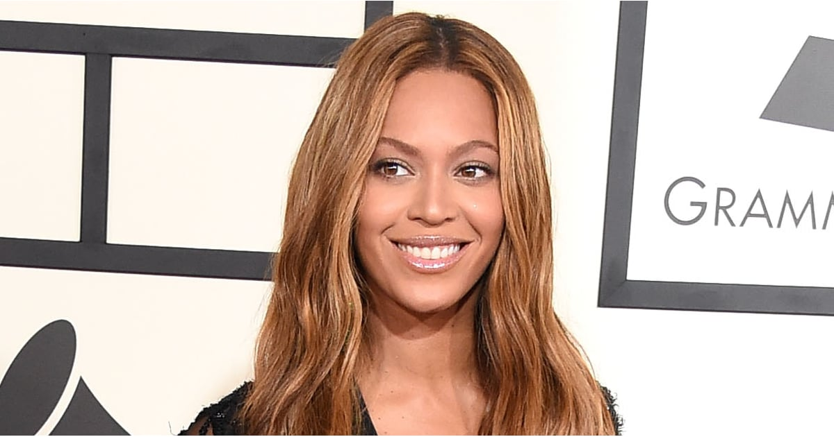 Beyonces Unretouched Loreal Photos Popsugar Beauty