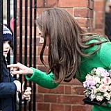 Kate Middleton Visits Schools February 2019
