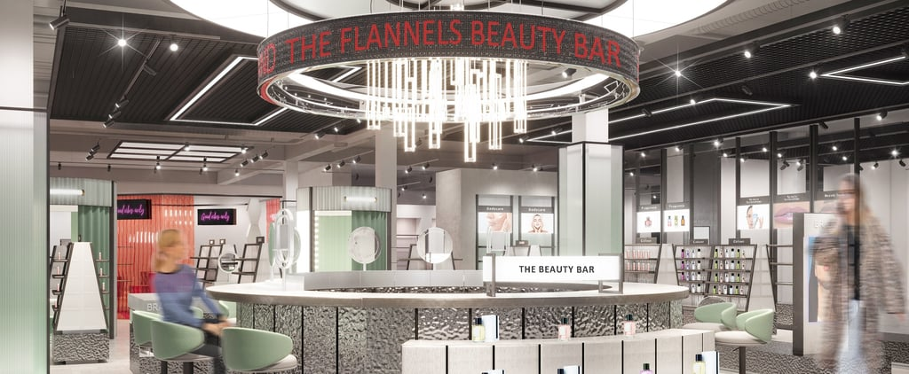 Flannels Beauty In-Store Details and Photos