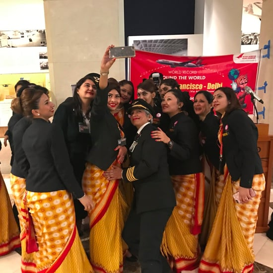 Air India Breaks World Record With All Female Flight Crew