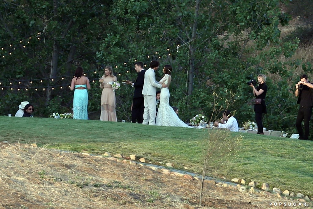Ian somerhalder and nikki reeds wedding pictures popsugar ian somerhalder and nikki reeds wedding pictures junglespirit Images