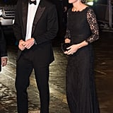The Duke and Duchess of Cambridge made a stylish appearance at the Royal Variety Show in November.