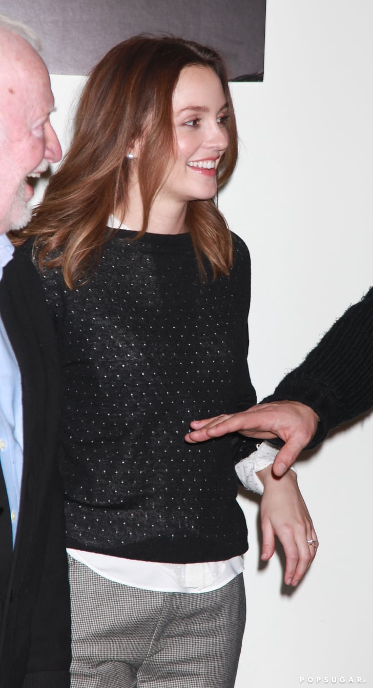 See Leighton Meester's Engagement and Wedding Rings!