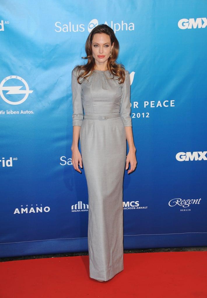 Angelina Jolie Today Show Dress 2015 | POPSUGAR Fashion