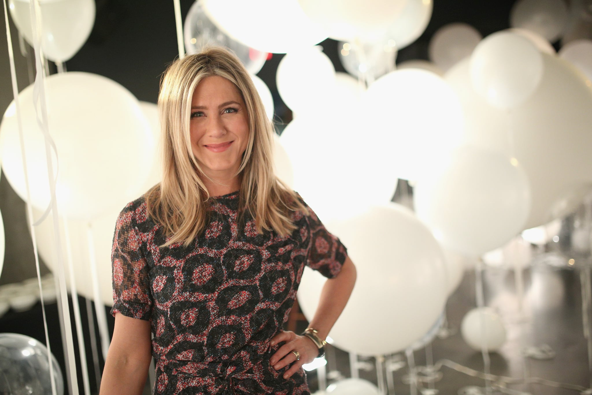 HOLLYWOOD, CA - FEBRUARY 23:  Actress Jennifer Aniston attends smartwater sparkling celebrates Jennifer Aniston and St Jude's Children's Hospital at W Hollywood on February 23, 2016 in Hollywood, California.  (Photo by Mike Windle/Getty Images for smartwater)