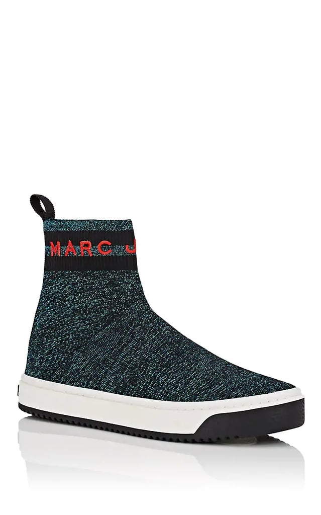 Marc Jacobs Logo Knit Sock Sneakers