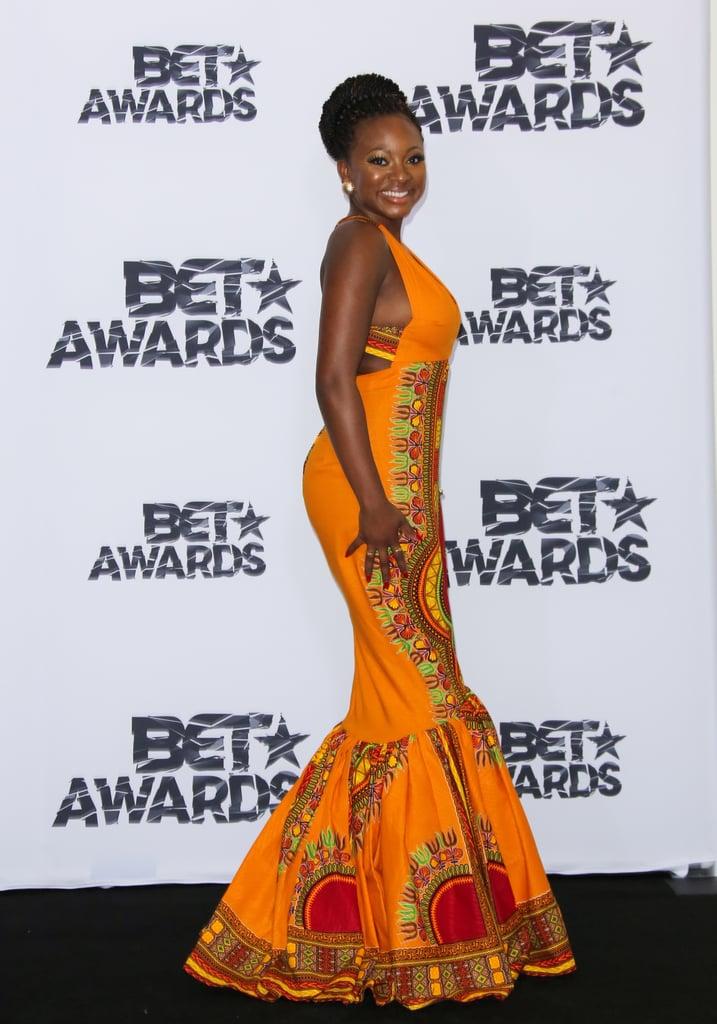 Kyemah McEntyre Designed Naturi Naughton's BET Awards Dress