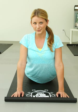 Lo Bosworth Fitness and Exercise Routine: Spin, Kettlebells, and Yoga