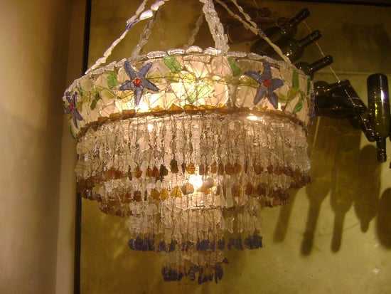 Guess What This Chandelier Is Made From?
