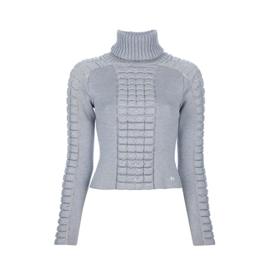 An Edgy Grey Knit