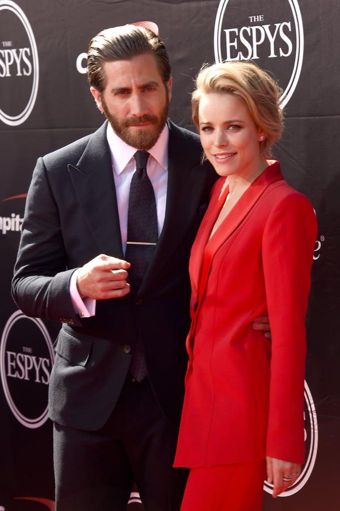Rachel McAdams and Jake Gyllenhaal at ESPYs 2015