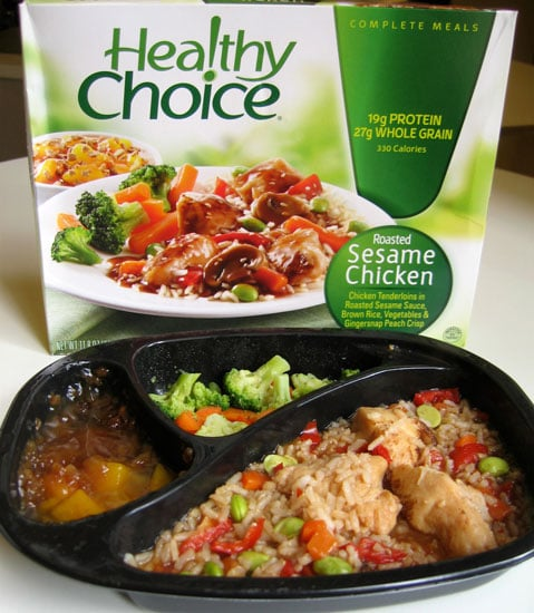Healthy choice roasted sesame chicken review of lean for Are lean cuisine healthy
