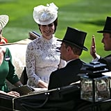 Kate Middleton in a Carriage 2017