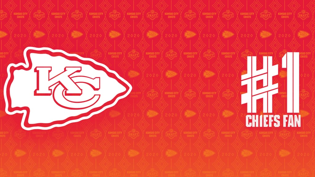 Kansas City Chiefs Number One Fan Zoom Background