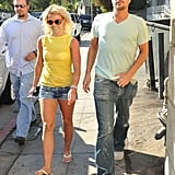 Photos of Britney Spears and Jason Trawick at Starbucks