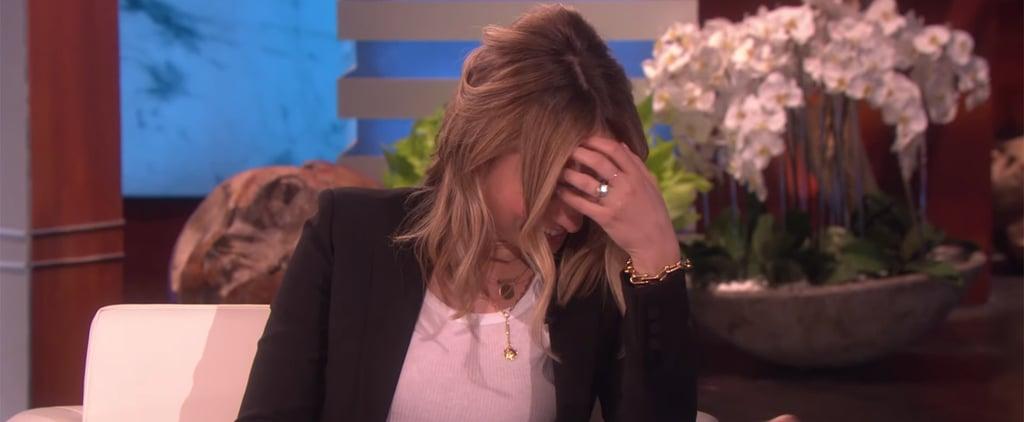 Olivia Wilde and Jason Sudeikis on The Ellen Show June 2019