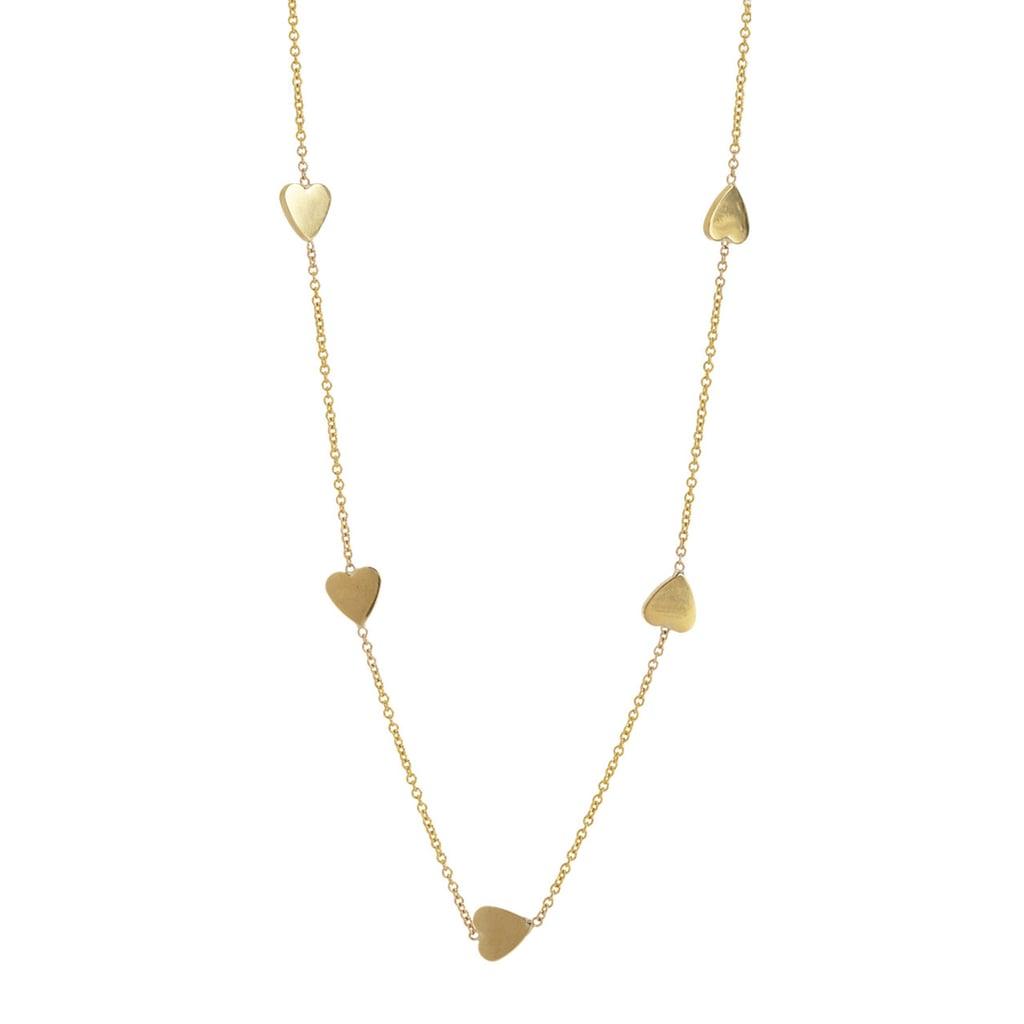 Jennifer Meyer Heart Necklace