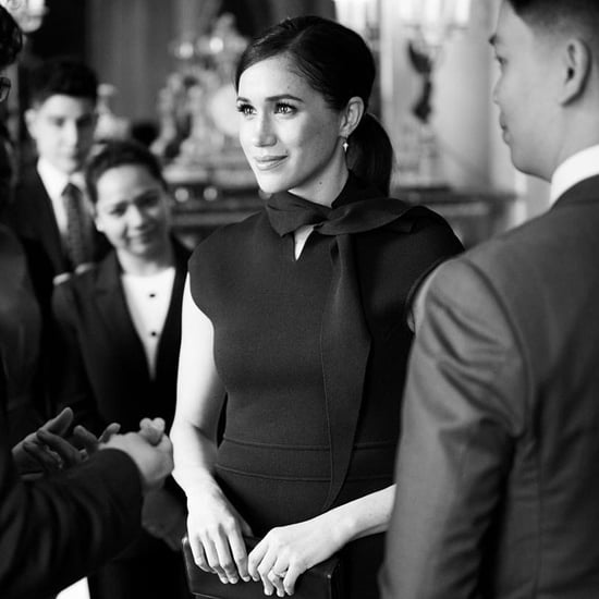 Meghan Markle Meets With Commonwealth Students at the Palace