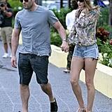 Jason Statham and Rosie Huntington-Whiteley Take Their Love to St. Barts