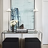 Joan Smalls's Minimalist, Chic Entryway Table
