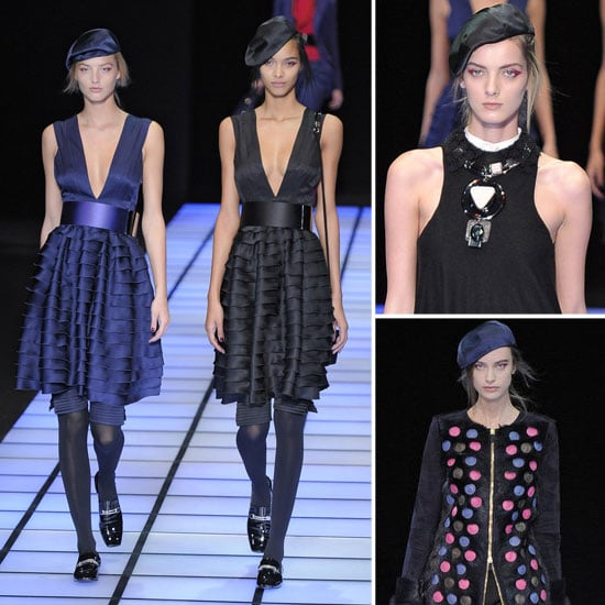 61574f9859 Review and Pictures of Emporio Armani Autumn Winter 2012 Milan Fashion Week  Runway Show