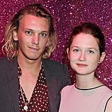 Jamie Campbell-Bower and Bonnie Wright