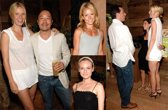 Photos of Diane Kruger, Gwyneth Paltrow, Jerry and Jessica Seinfeld, and Kelly Ripa at Tod's Party in The Hamptons