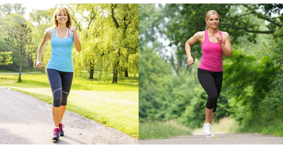 running vs walking Get the facts on the health benefits of walking, techniques and tips, statistics, weight loss and calories burned, running vs walking, and the mechanics of walking.
