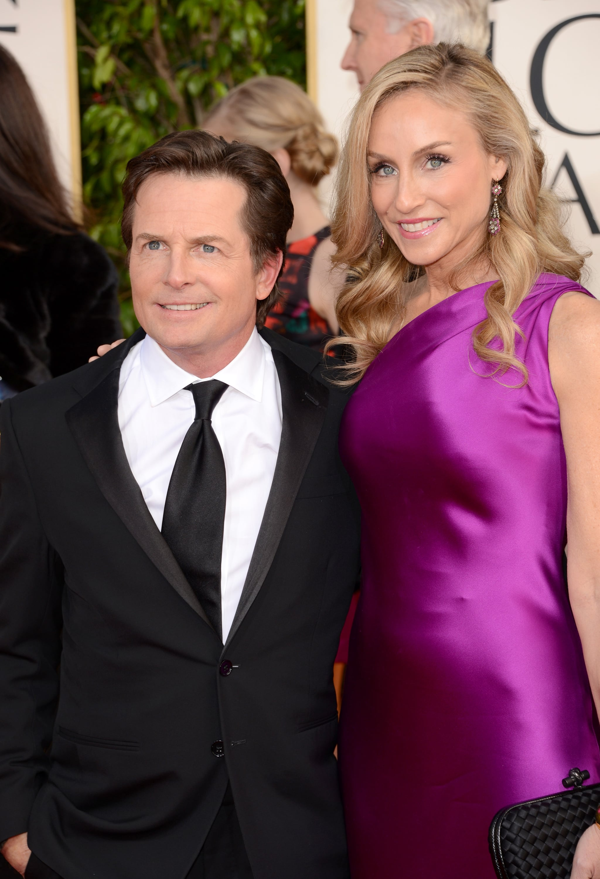 Michael j fox and tracy pollan fawn over all the for Michael j fox and tracy pollan love story