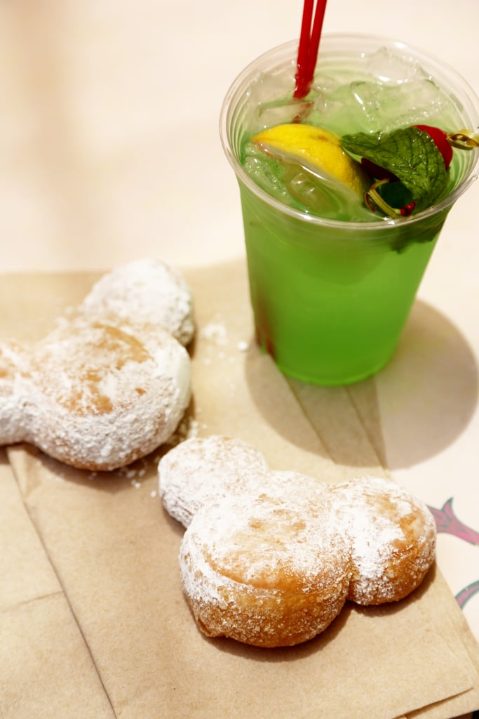 Mickey Beignets and Mint Julep
