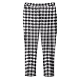 Blue and White Gingham Twill Pants ($30)