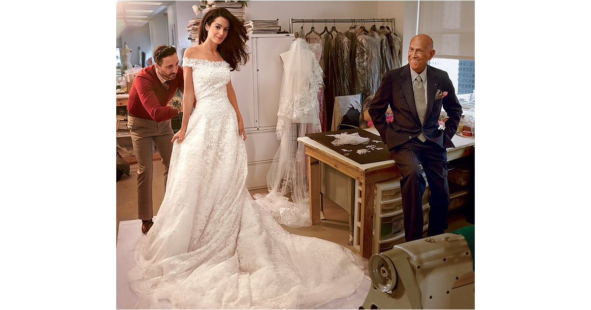 Amal alamuddin 39 s oscar de la renta wedding gown you can for Where to buy oscar de la renta wedding dress
