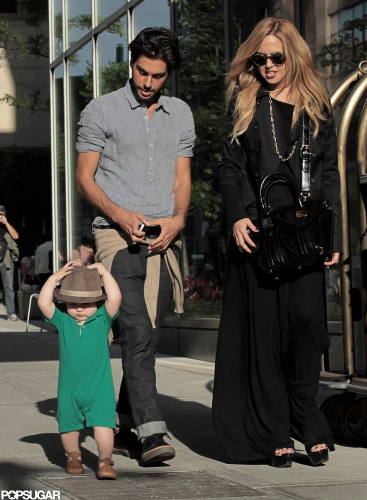 Rachel Zoe and Skyler Berman went for a walk in SoHo with Joey Maalouf.