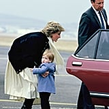 Diana Picking Up Harry, 1986
