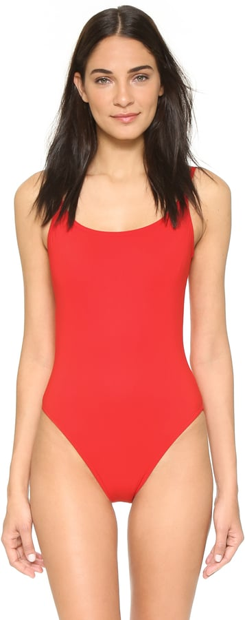 Karla Colletto Swimsuit with Low Back