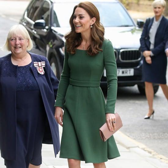 Duchess of Cambridge Green Emilia Wickstead Dress May 2019