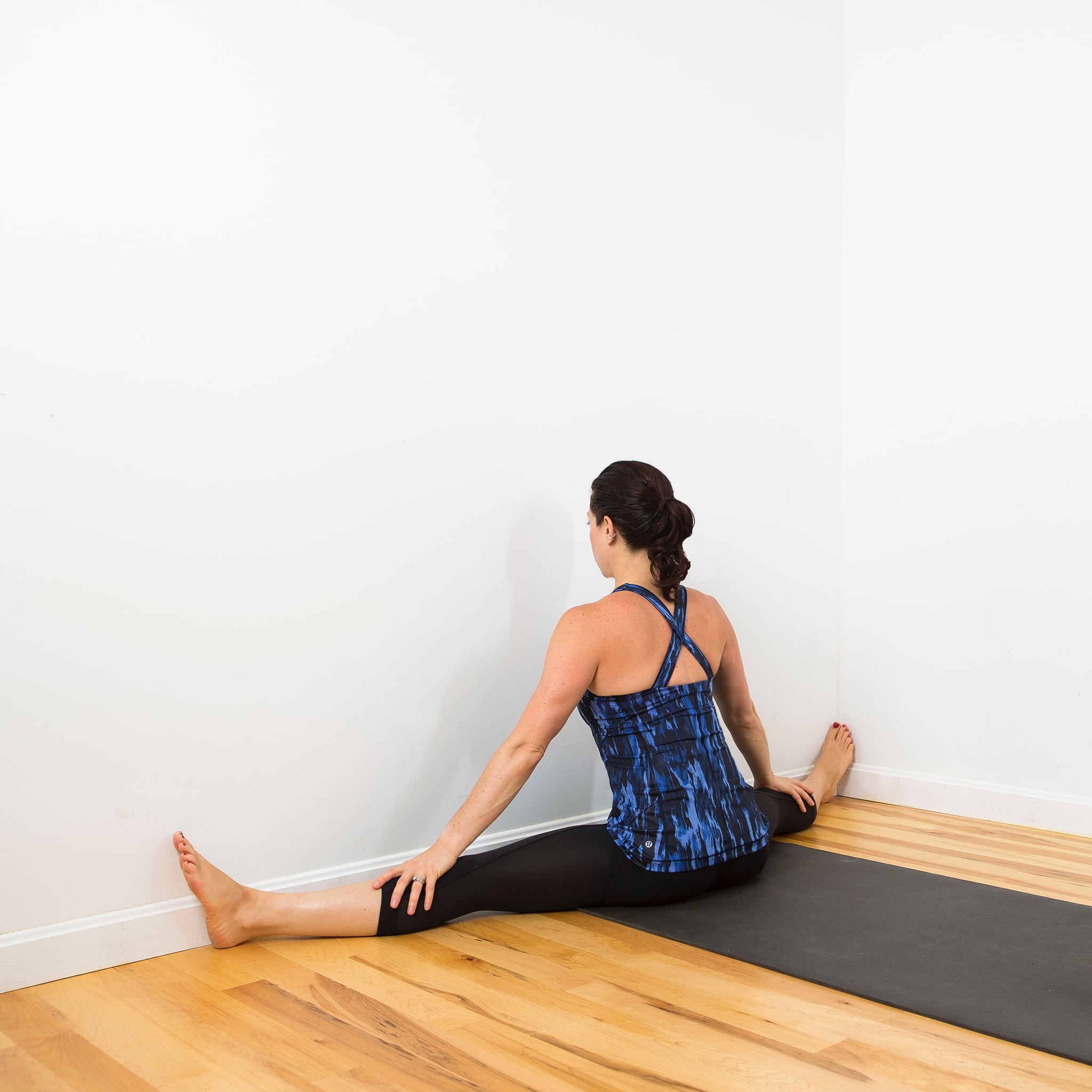 Inner Thigh Wall Stretch