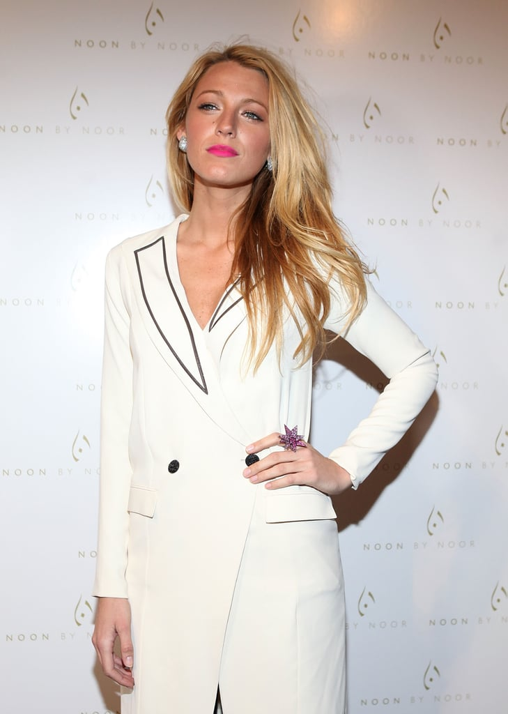 Blake Lively attended NYFW to see Noon by Noor.