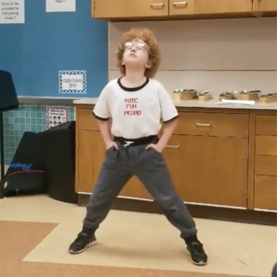 Viral Video of a Boy Doing the Napoleon Dynamite Dance