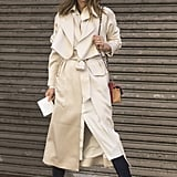 A trench coat with just about anything