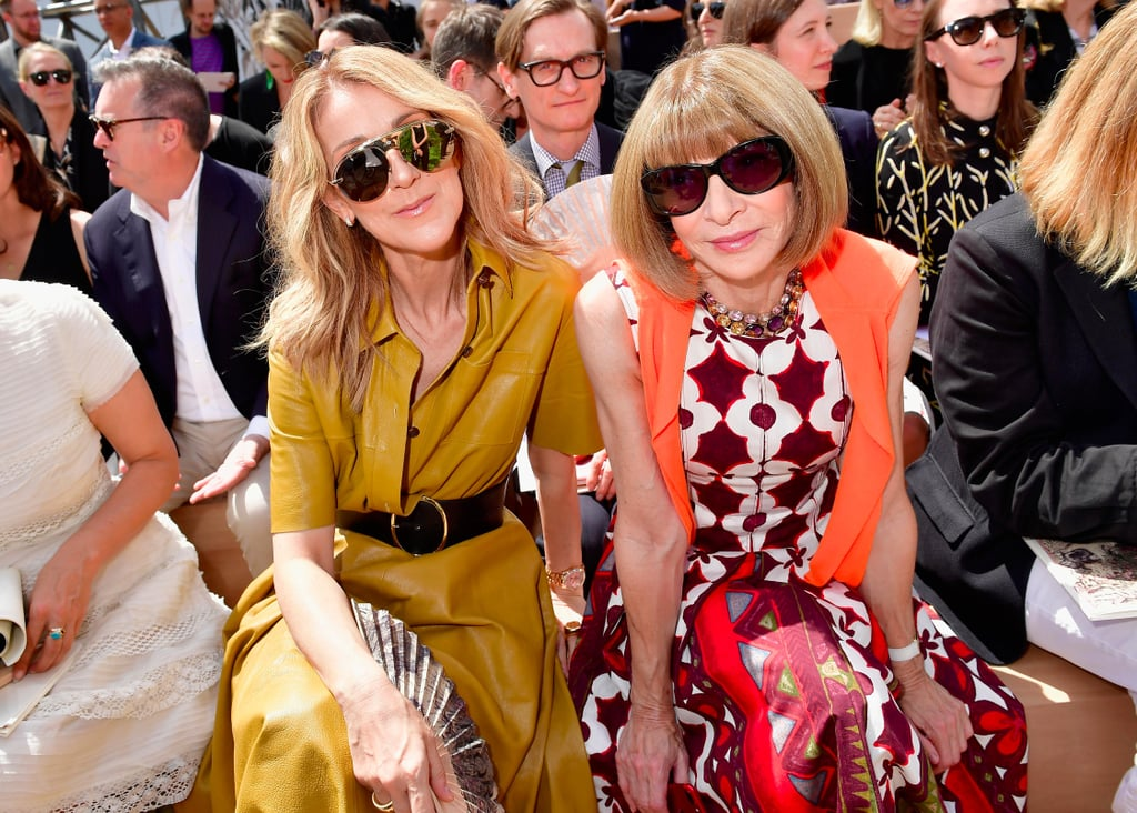 Whoever's Next to Anna Wintour at Fashion Week Has the Best Seat in the House