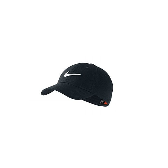 A cap is essential for outdoors workouts. Pick something in a neutral hue (black, white, grey or navy) with discreet, if any, branding. Leave the trucker caps at home, please. Cap, $30, Nike