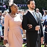 Serena Williams at the Royal Wedding 2018