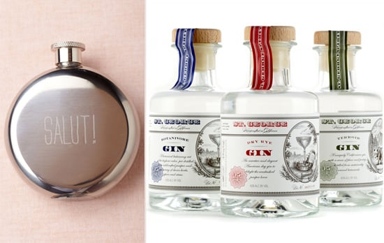Salut! Flask and St. George Spirits Gin Trio