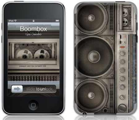 Boombox Gelaskins For Your iPod and iPhone