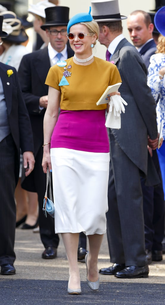 Lady Helen Taylor at Royal Ascot in Ascot, England.