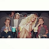 "Britney got adorable with her well-dressed fellas in the music video for ""Ooh La La"" from The Smurfs 2 soundtrack. ""Omg. How CUTE are my boys?!"" she wrote."
