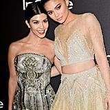 Pictured: Kourtney Kardashian and Kylie Jenner